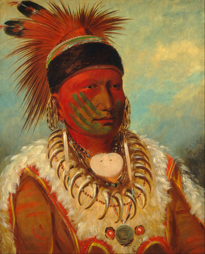 """White Cloud, Head Chief of the Iowas."" 1818-1844."