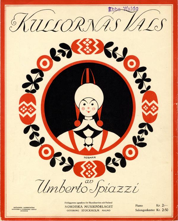 """""""Kullornas Vals."""" 1927."""