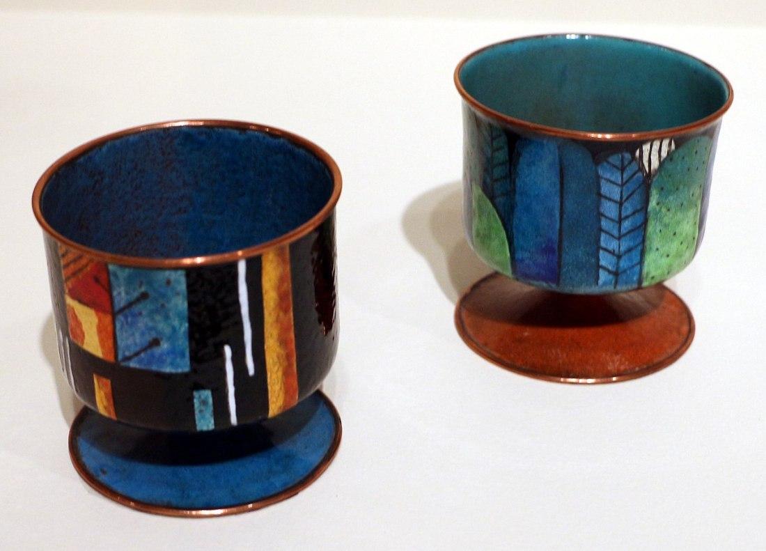 Cigarette urns. 1928-29.