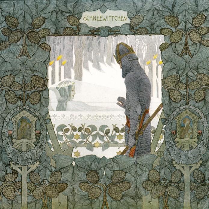 """""""Schneewittchen"""" (Snow White). ca. 1905."""