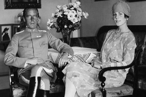 Folke Bernadotte, Count of Wisborg and his wife Estelle.