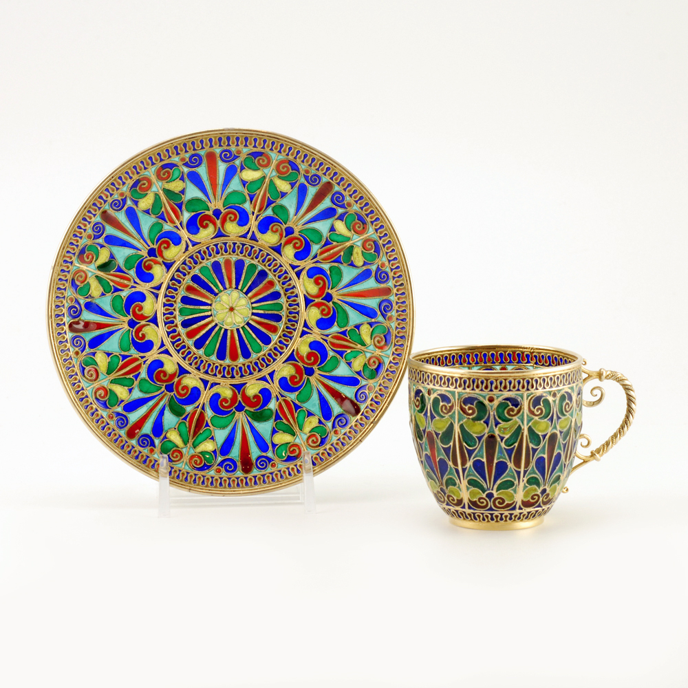 Cup and saucer. ca. 1900.