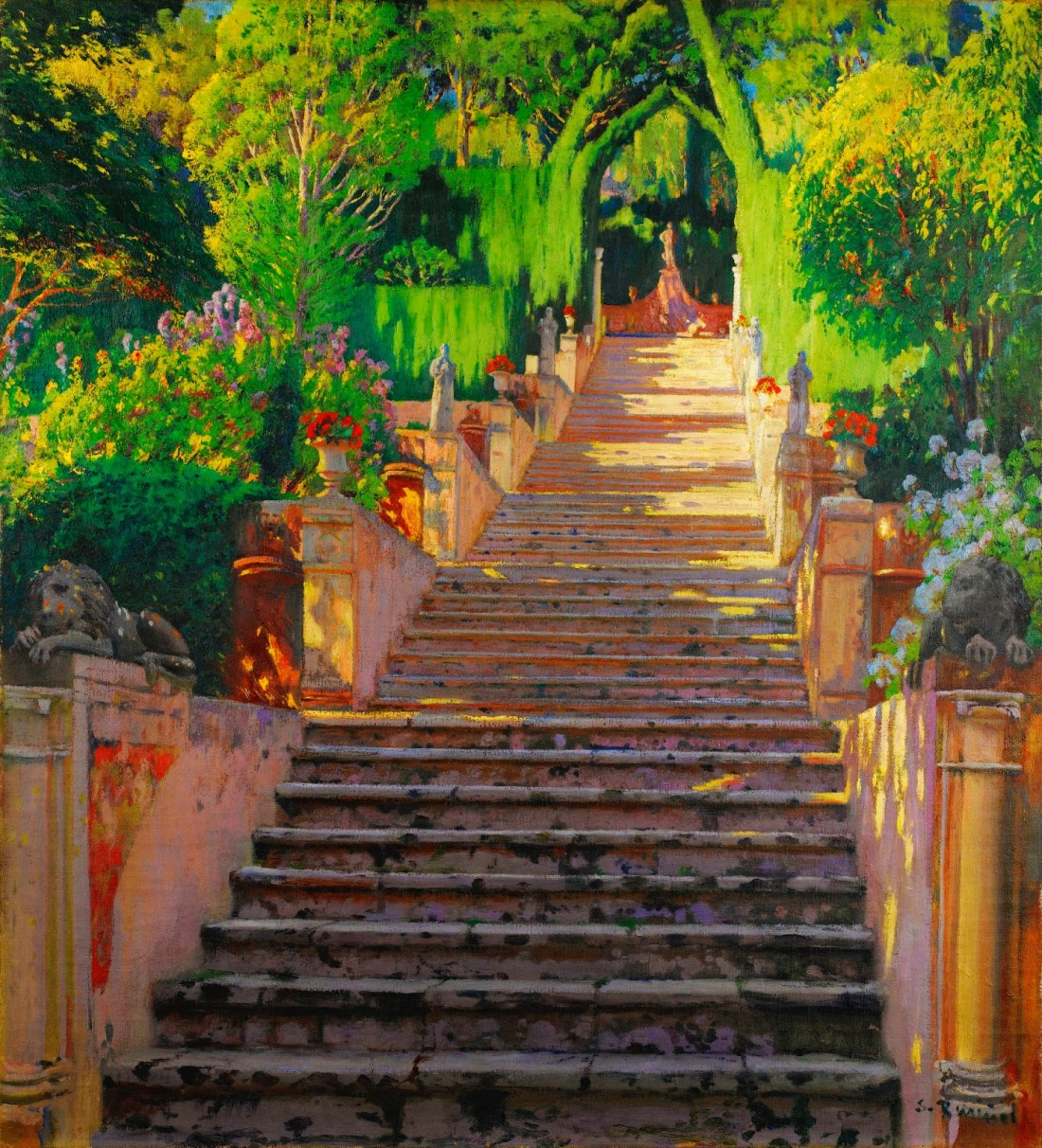 The Old Stairs (Pedres velles), Raixa. 1907.