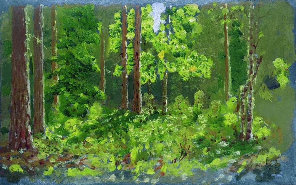 """""""Kuindzhi Forest."""" 1887."""