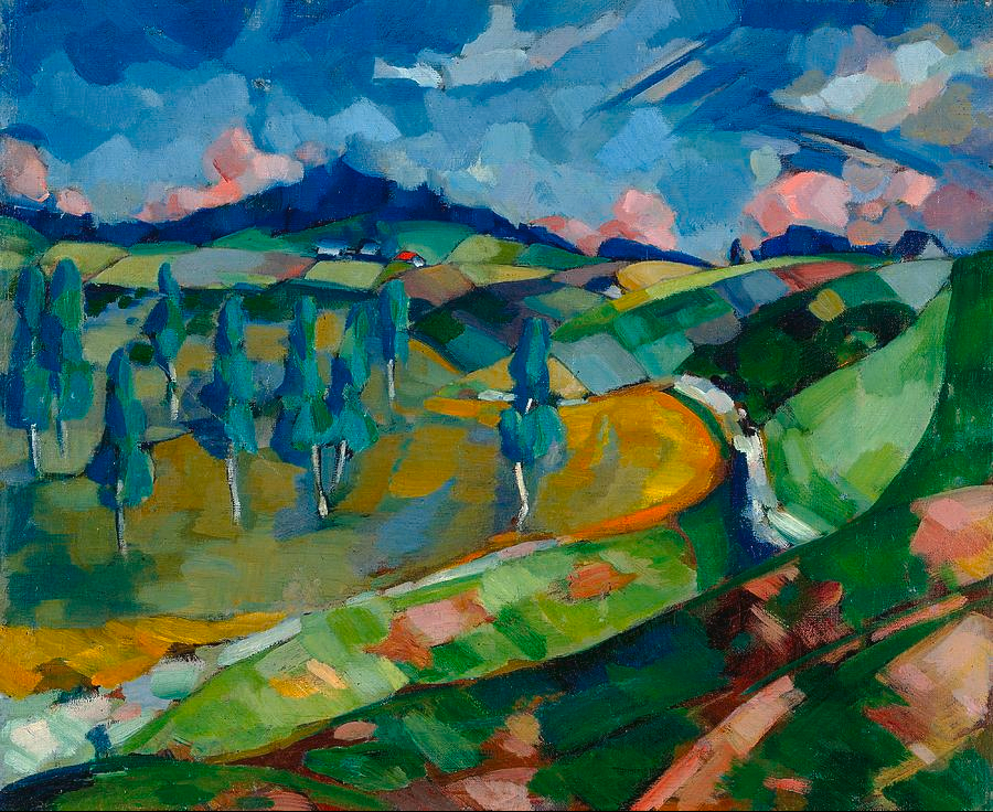 Landscape. ca. 1923-24.