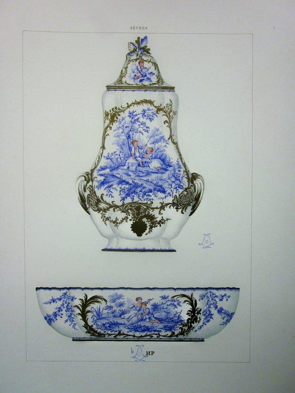 Chromolithograph. Plate #9.