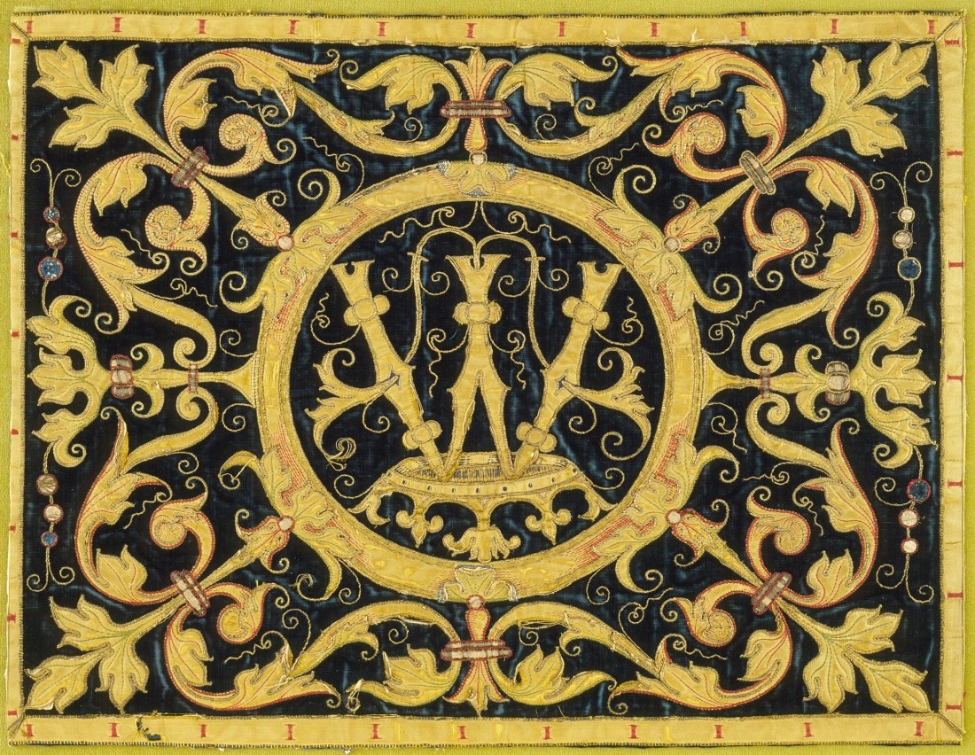 Ecclesiastical embroidery. Late 17th c.