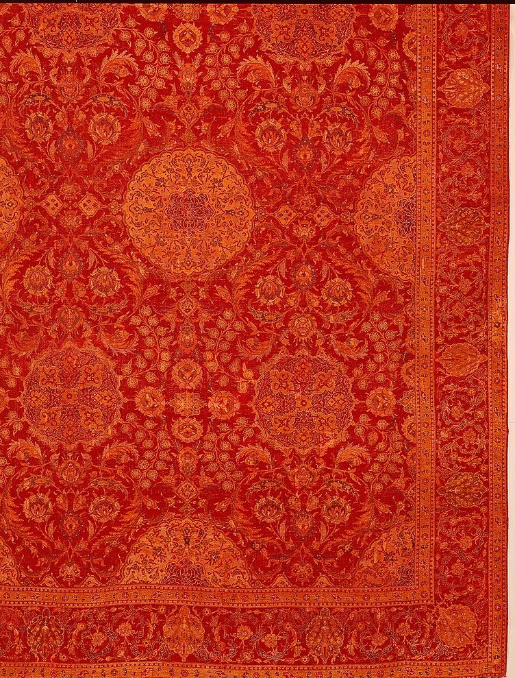 Ottoman court carpet. Late 16th-early 17th c.