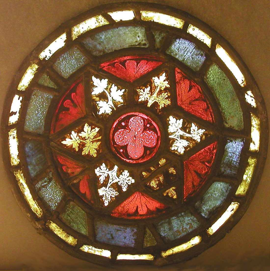 Ornamental roundel. 1260-70.
