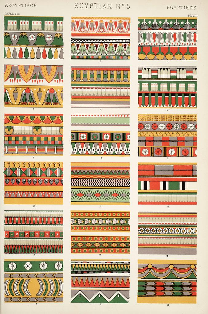 Egyptian Number 5. Plate VIII.