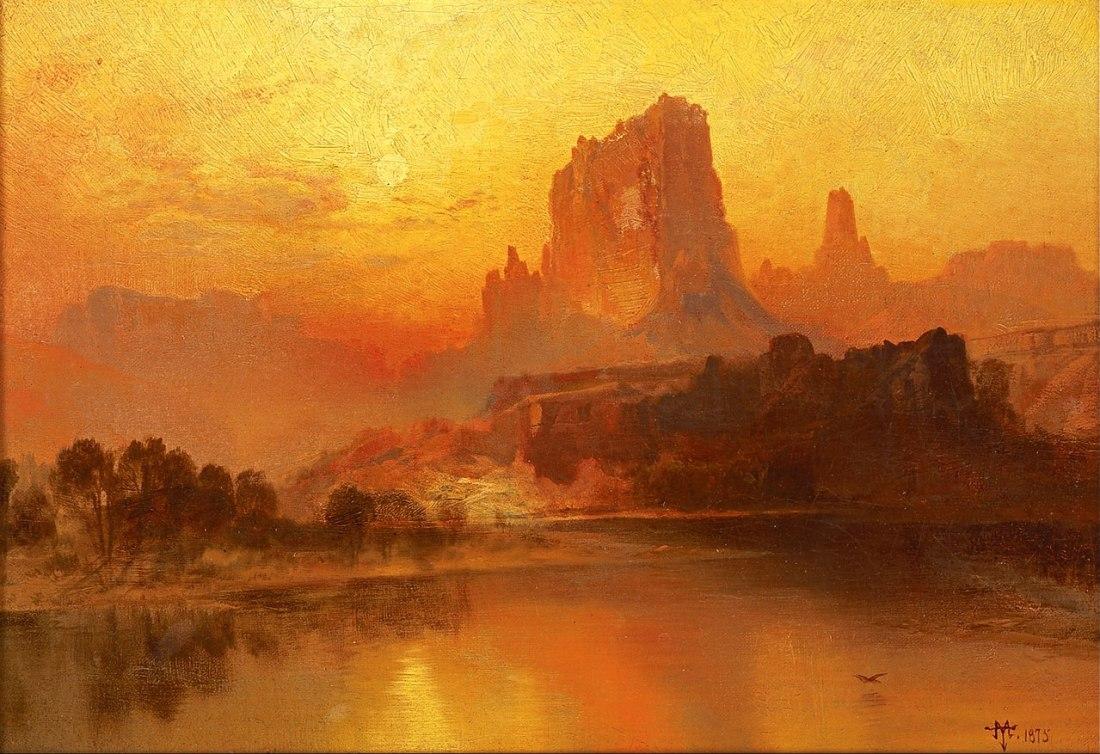 """The Golden Hour."" 1875."