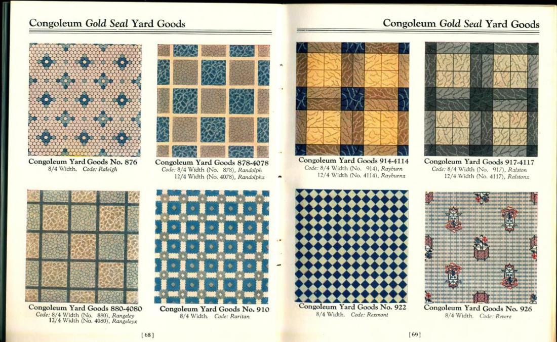 """""""Yard Goods."""" 1928."""