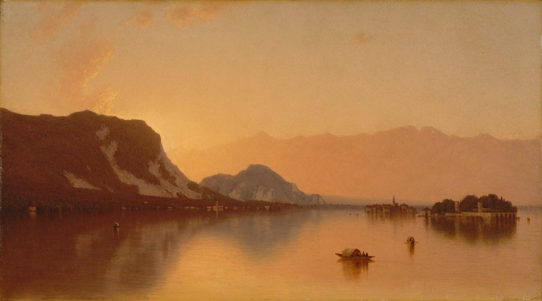 """""""Isola Bella in Lago Maggiore."""" 1871."""