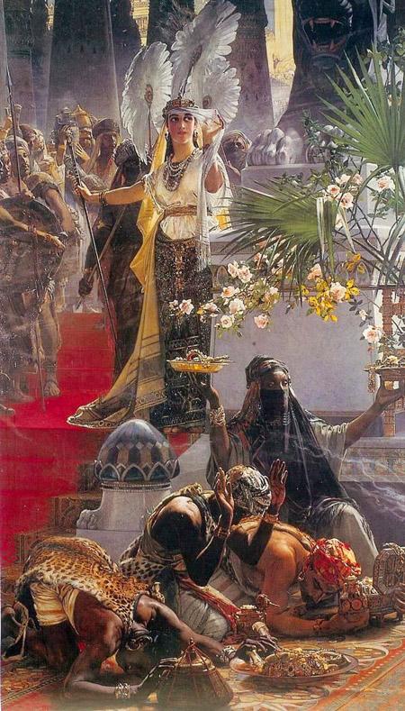 """""""Queen of Sheba."""" Undated."""