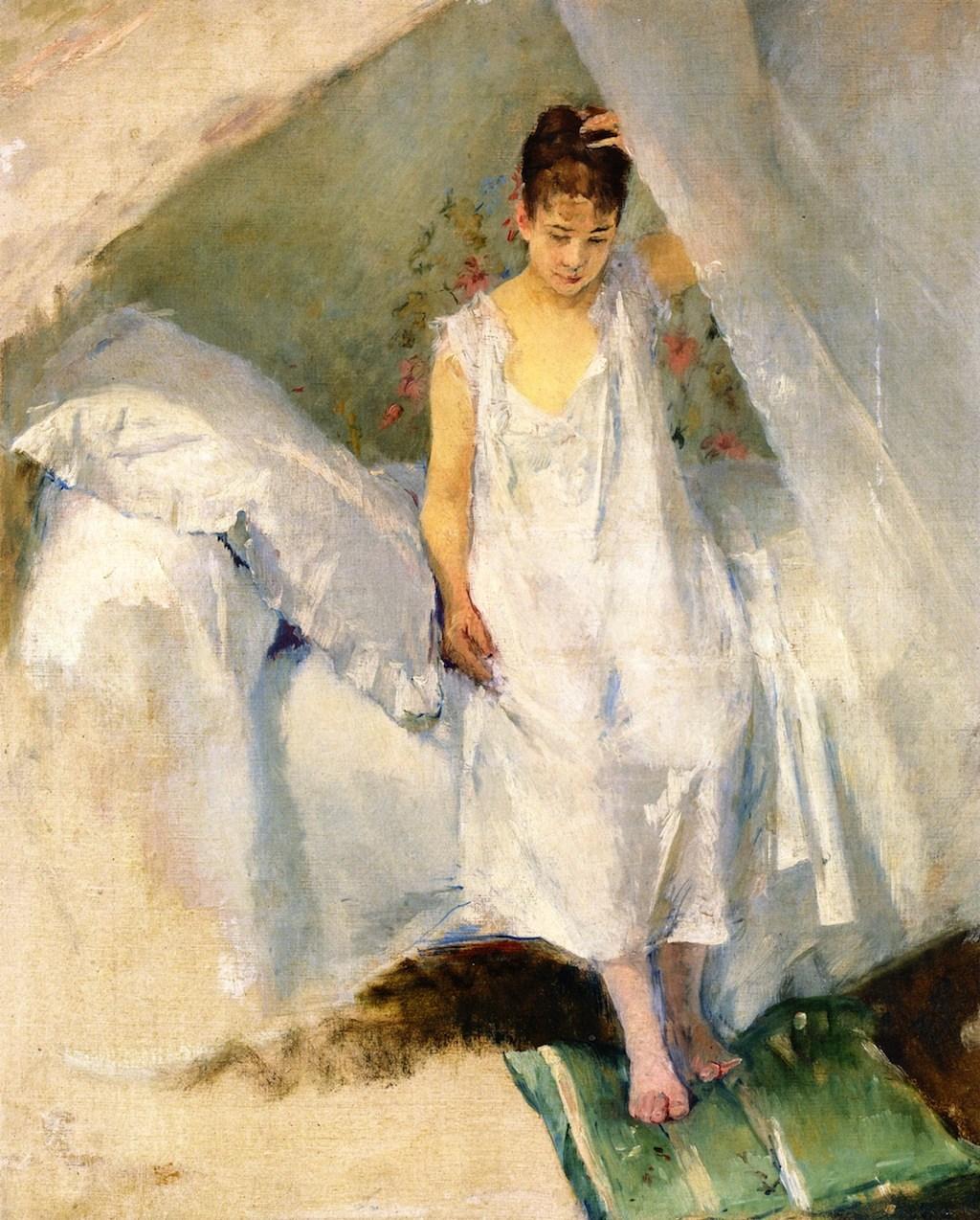 """""""The Alcove."""" 1875-1878."""