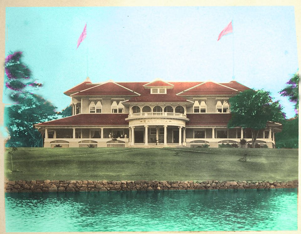 Haleiwa Hotel on Oahu in its final reuse as a World War II officer's club.