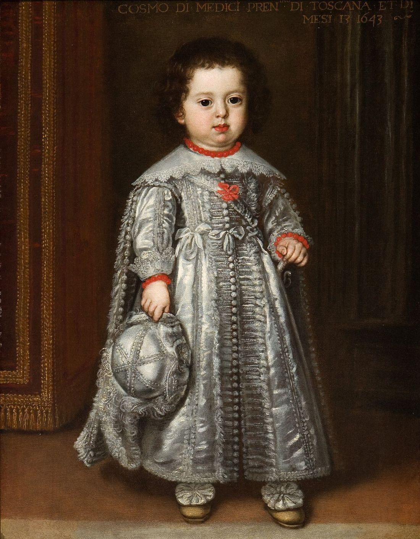 """Cosimo III de' Medici, Grand Duke of Tuscany."" 1643."