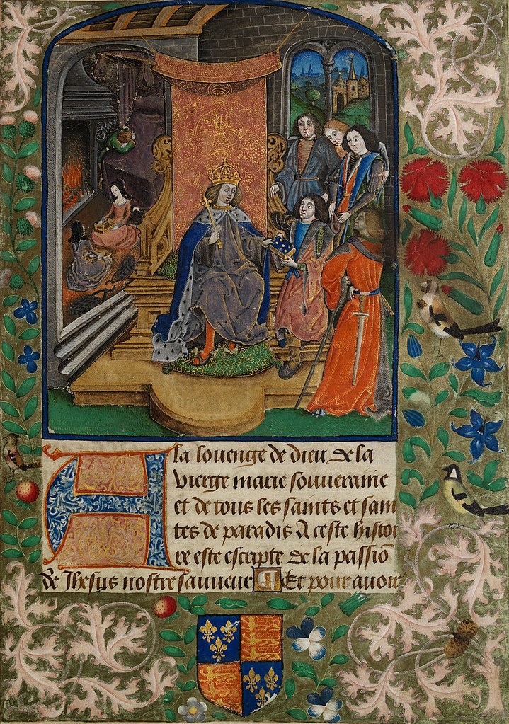 """""""Henry VII in mourning."""""""
