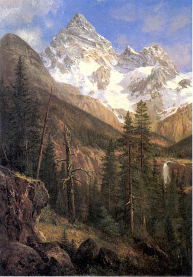 """""""Mount Sir Donald, Asulkan Glacier."""" ca. 1890."""