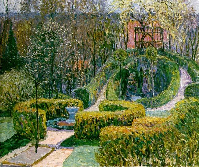 """Garden in Spring."" 1912."