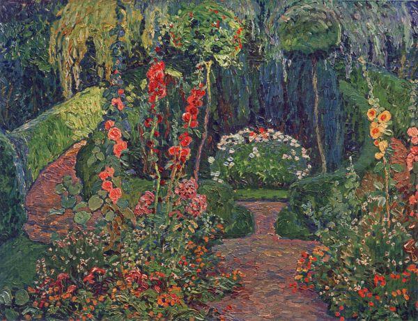 """Summer Garden."" 1913."