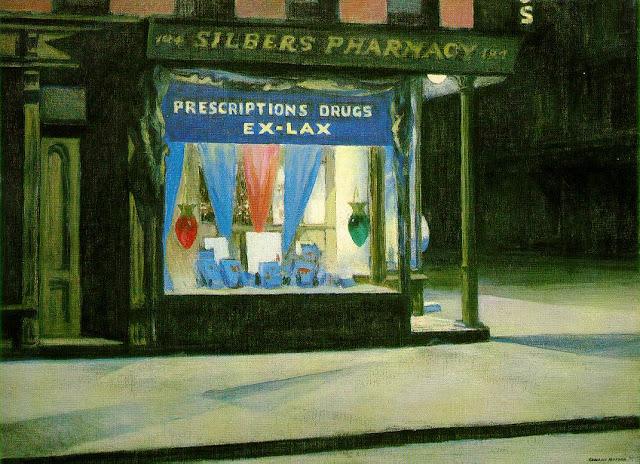 """""""Drug Store."""" 1927."""