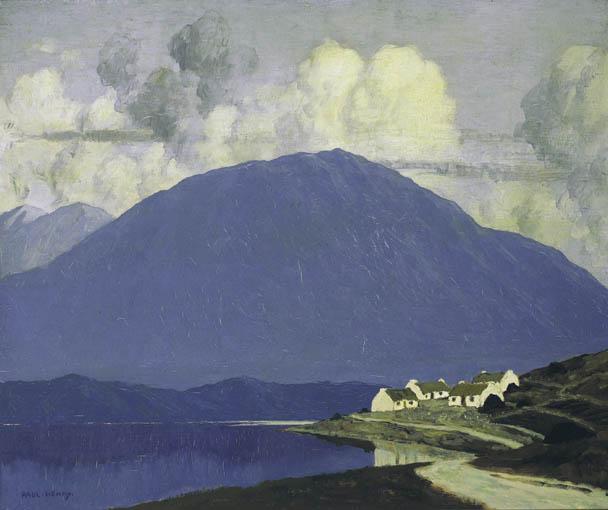 """Connemara Landscape."" ca. 1916-1919."