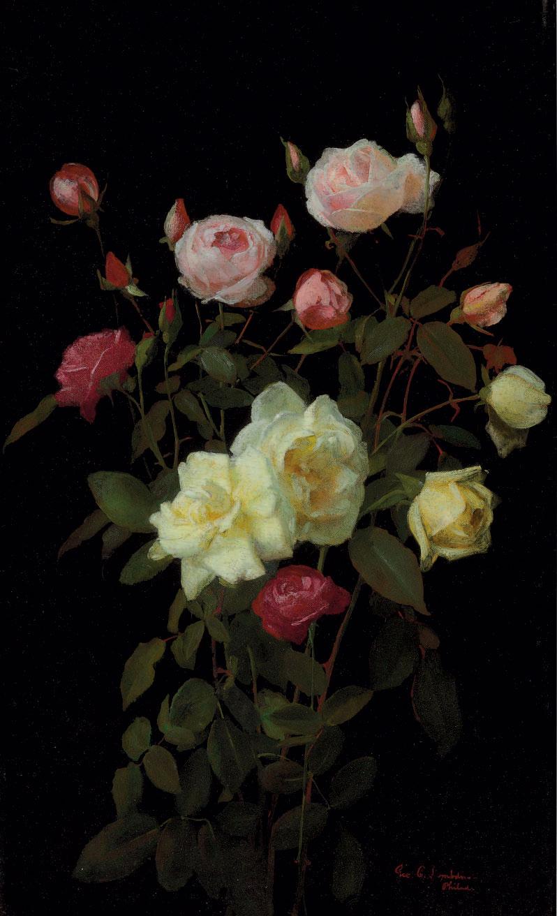 """""""Roses."""" Undated."""