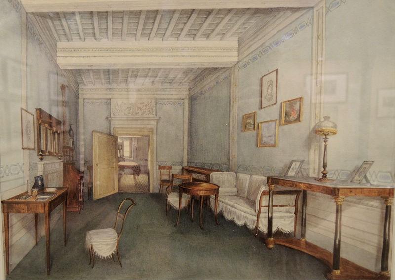 Study of the Shakhovsky prince's estate. Undated.