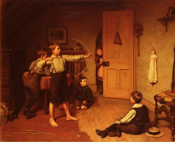 """""""The Archers."""" 1894."""