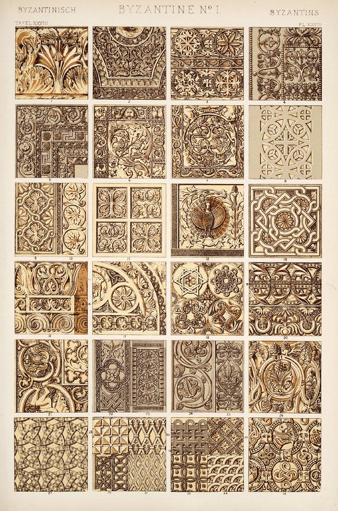 Byzantine Number 1. Plate XXVIII.