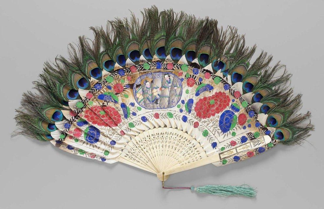 Brisé fan. 1875.