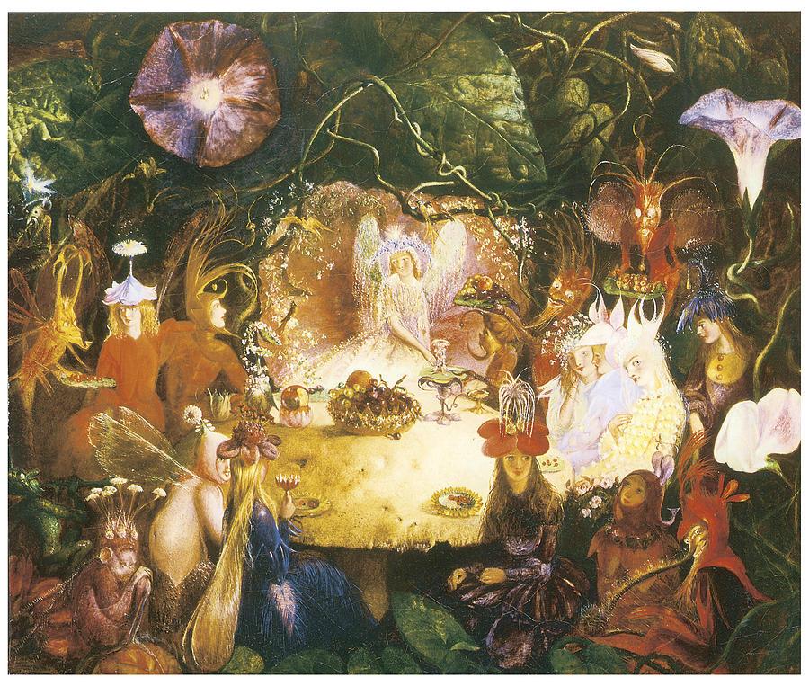 """""""The Fairies Banquet."""" 1859."""