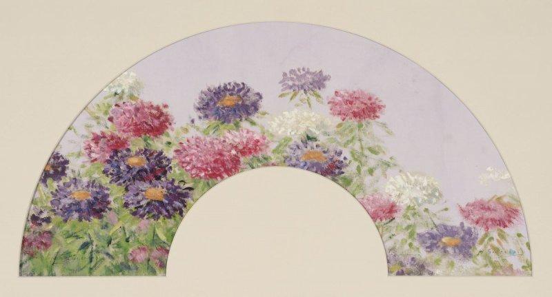 """""""L'Eventail des fleurs."""" ca. 1879-1880."""