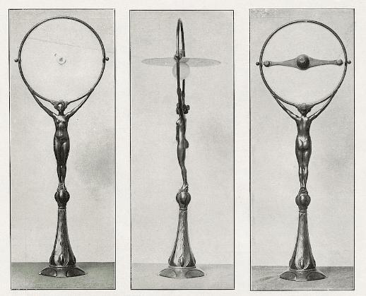 Electric lamp. ca. 1901.