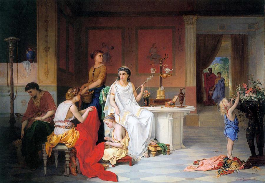 """The Last Hour of Pompeii."" 19th c."