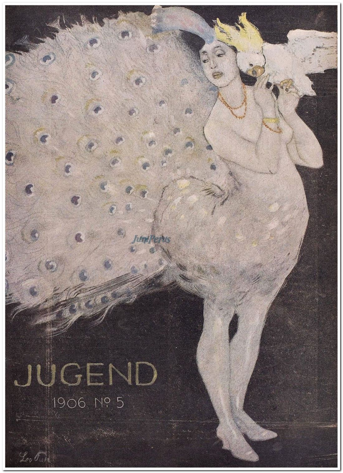 Cover art for Jugend. 1906, Number 5.