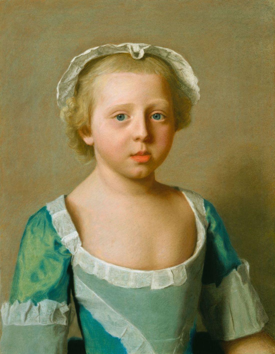 Princess Caroline Mathilda. 1754.