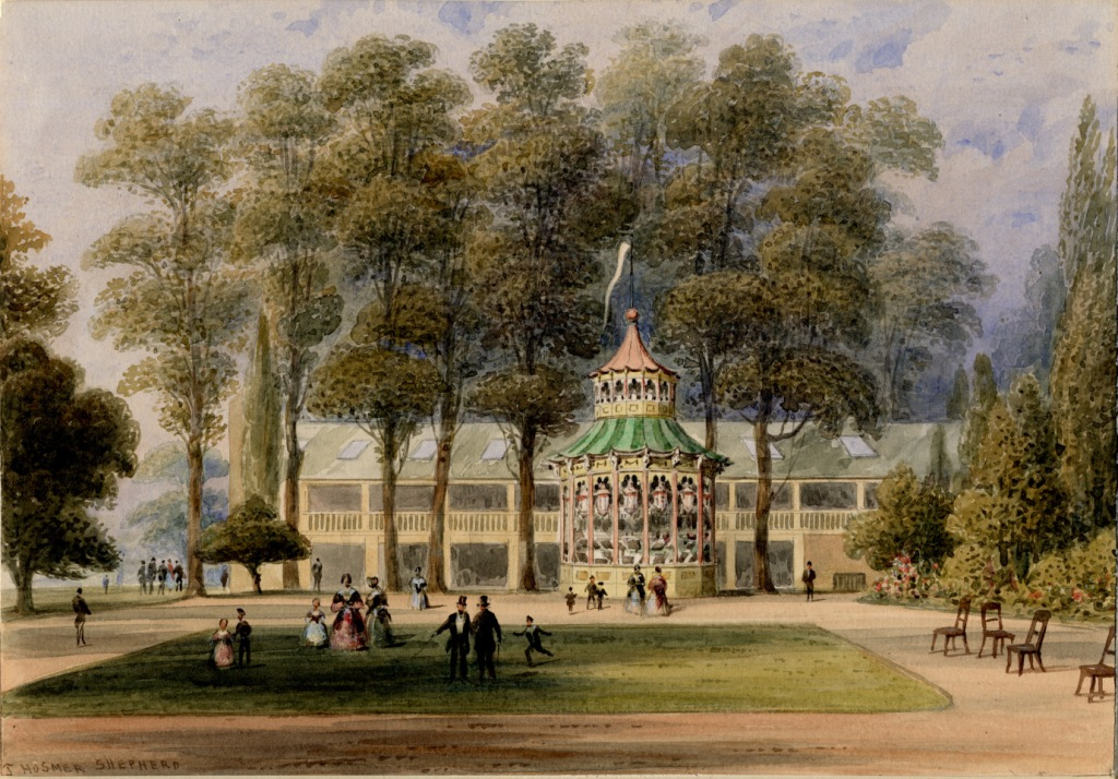 """Cremorne Pleasure Gardens."" 1852."