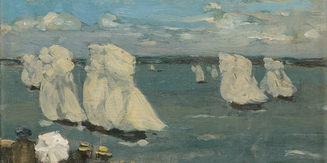 """""""The Regatta."""" ca. 1902-1907."""