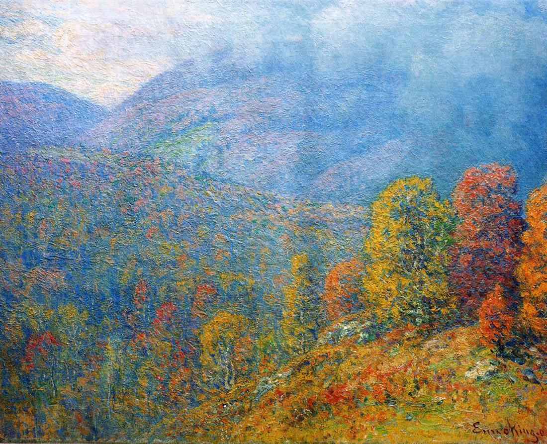 """Mountain Landscape."" 1902."