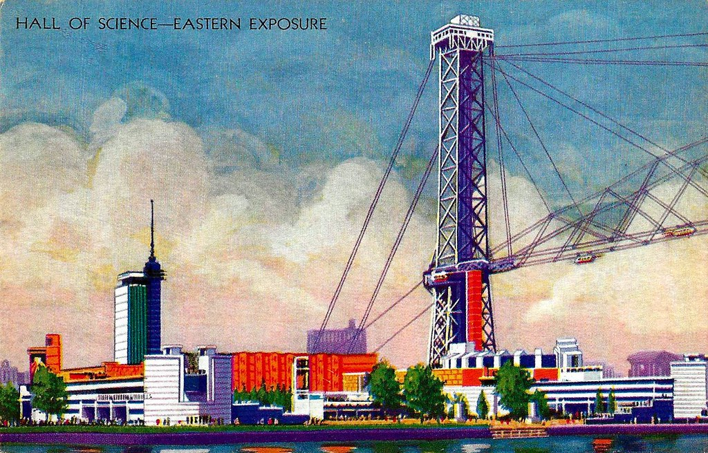 Hall of Science - Eastern Exposure. 1933.