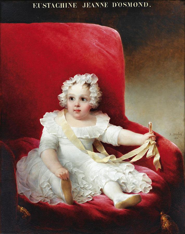Portrait of Eustachine Jeanne Dosmond