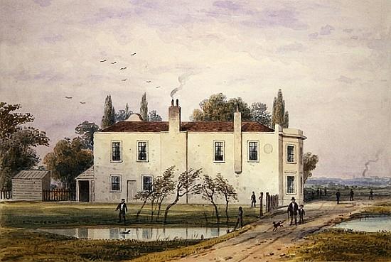 """View of Copenhagen House."" 1853."