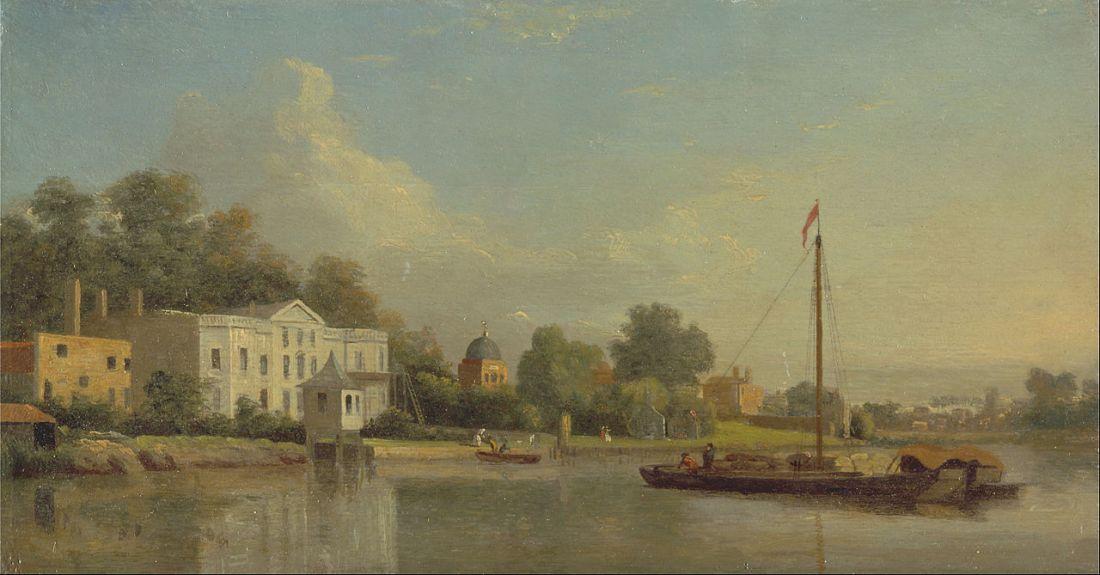 """Pope's Villa, Twickenham."" ca. 1759."
