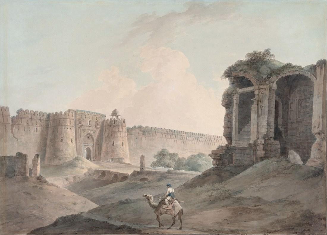 """The Purana Qila, Delhi."" 1796."