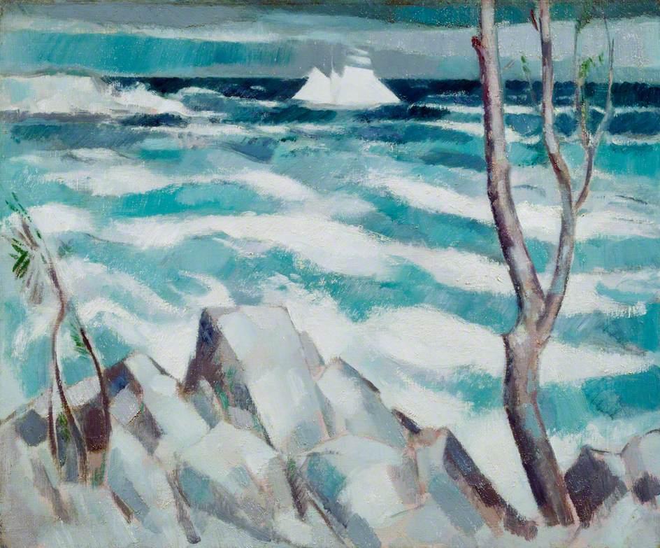 """The Breeze, Antibes."" 1914."