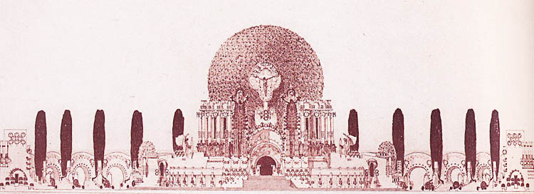 Architectural rendering. 1902.