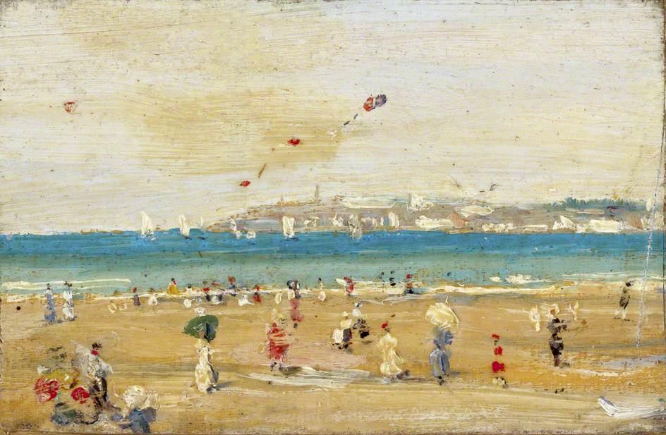 """""""Point de Granville, Normandie."""" ca. 1900."""