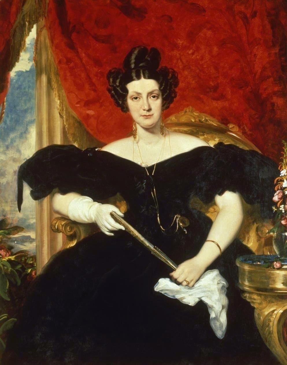 Eugénia Teles da Gama, Duchess of Palmela. 1830's.